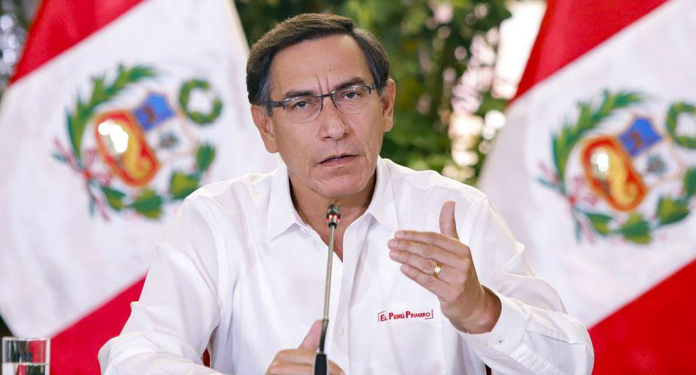 Martín Vizcarra decidirá hoy si se amplía cuarentena obligatoria