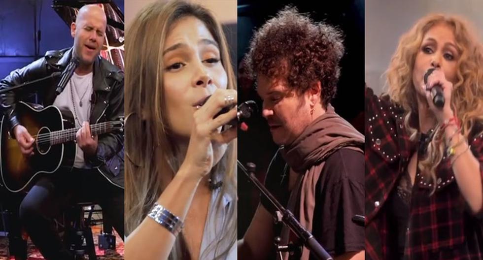 Gian Marco, Greeicy, Cabas y Paulina Rubio en 'A Tiny Audience' de HBO