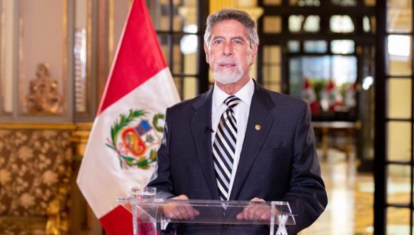 El presidente Francisco Sagasti dio a conocer el nombre oficial del año 2021 en el Perú | Foto: Andina