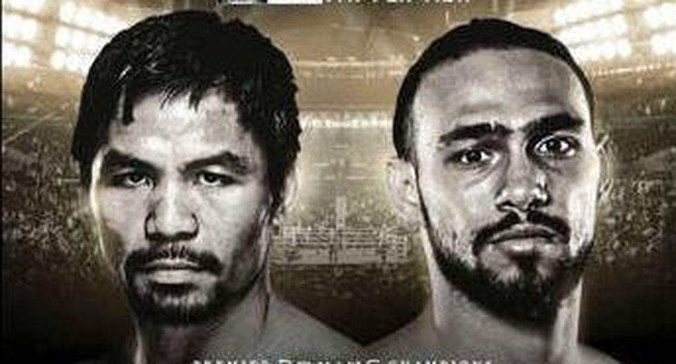 Pacquiao quiere volver a lo más alto del boxeo. (Redes sociales)