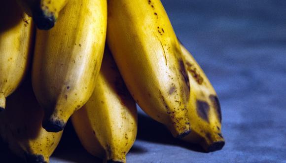 Los plátanos maduran rápido y se ponen negros con facilidad. (Foto: Pexels)
