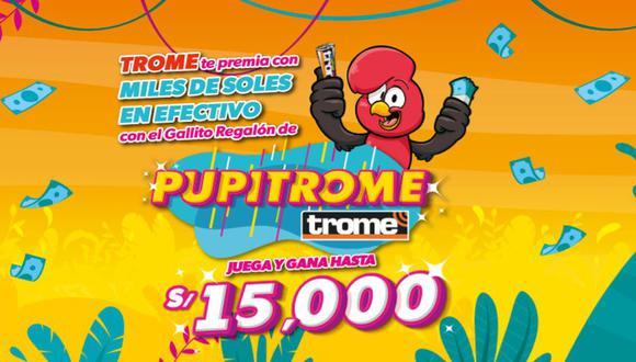 La nueva promoción de Trome.