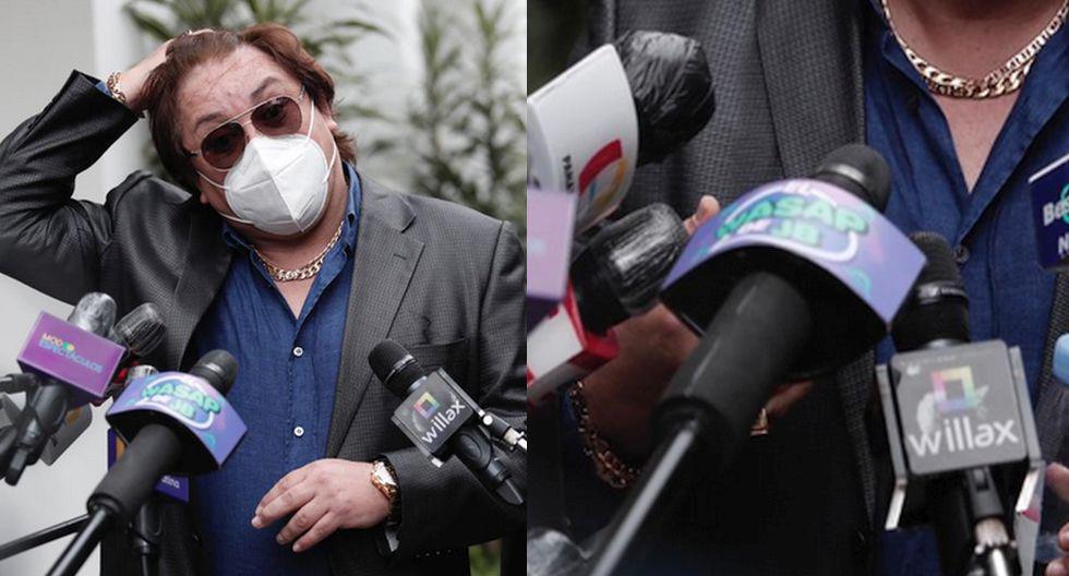 'El Wasap de JB' estuvo presente en la conferencia de prensa de Richard Swing