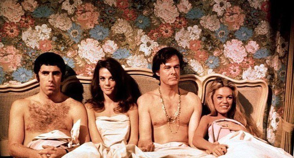Bob &amp; Carol &amp; Ted &amp; Alice (1969; director: Paul Mazursky)<br>&nbsp;(Captura de pantalla)
