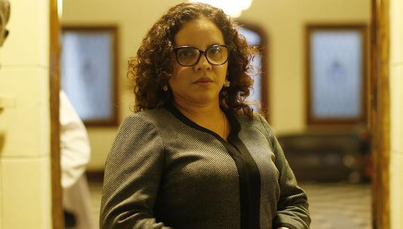 Fiscal Rocío Sánchez fue separada del caso 'Los Cuellos Blancos del Puerto'. (Foto: GEC)