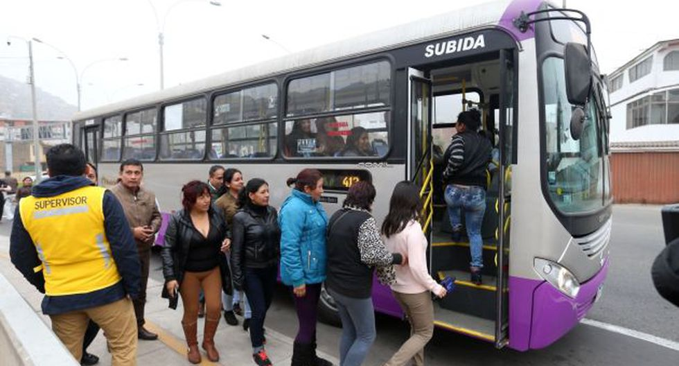 Para atender la gran demanda de los usuarios ampliarán ruta del corredor San Juan de Lurigancho.