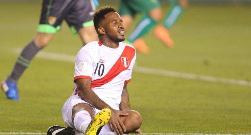 Jefferson Farfán quedó fuera dela Copa América por esta lesión en su rodilla