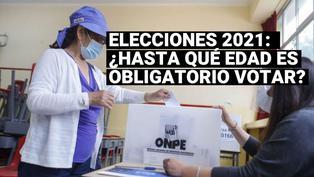 Elecciones 2021: ¿hasta qué edad se puede votar este 11 de abril?