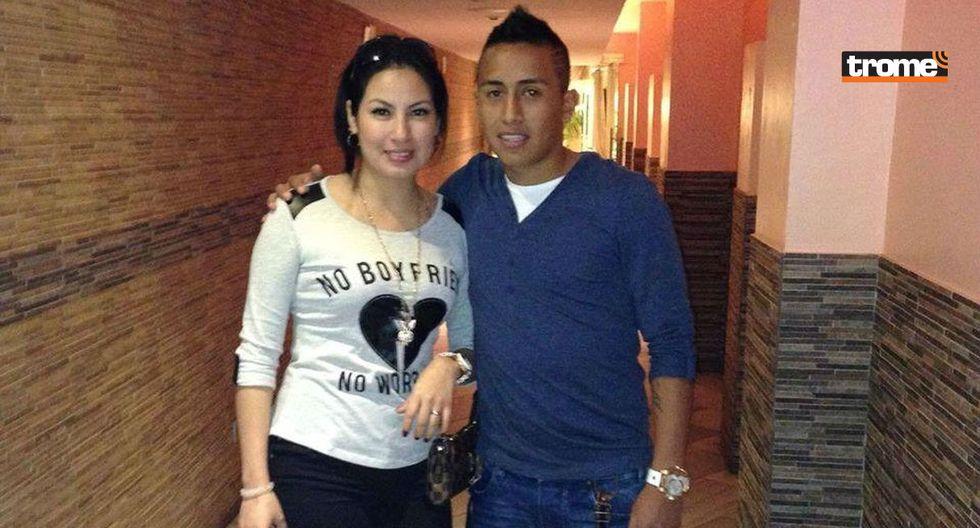 Christian Cueva y su esposa. (TROME)