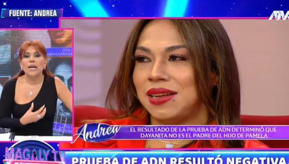 Magaly Medina envía mensaje a Dayanita tras enterarse del resultado de su prueba de ADN. (Foto: Captura de video)