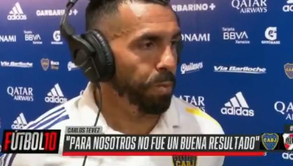 Carlos Tevez habló sobre la expulsión de Carlos Zambrano