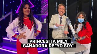 """Yo Soy"": imitadora de la 'Princesita Mily' se consagró como la ganadora de la temporada 30"