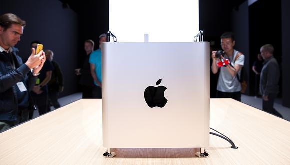 La nueva computadora de Apple desató toda clase de memes y bromas por el singular de su CPU. (Foto: AFP)
