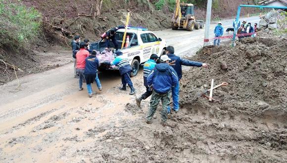 Mujer cusqueña muere sepultada en su vivienda tras deslizamientos de tierra y huaicos (Foto: Difusión)