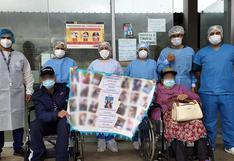 Piura: Esposos con más de 70 años de edad vencieron el COVID-19 en Huancabamba