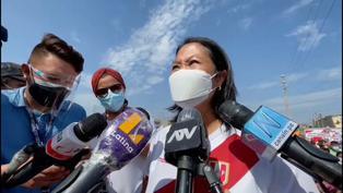 Keiko Fujimori responde al pedido del fiscal Domingo Pérez de denegar su salida del país