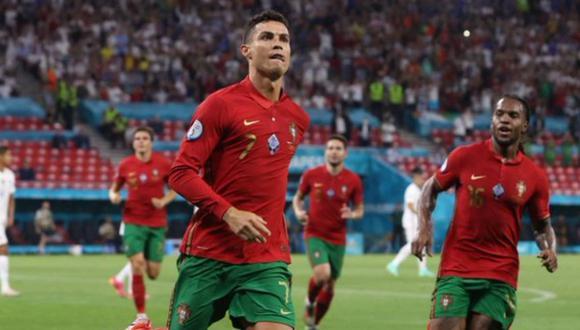Un doblete de Cristiano Ronaldo permitió que Portugal empate 2-2 con Francia y avance a octavos de final de Eurocopa