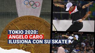Tokio 2020: Angelo Caro se alista para representar al Perú en Skate
