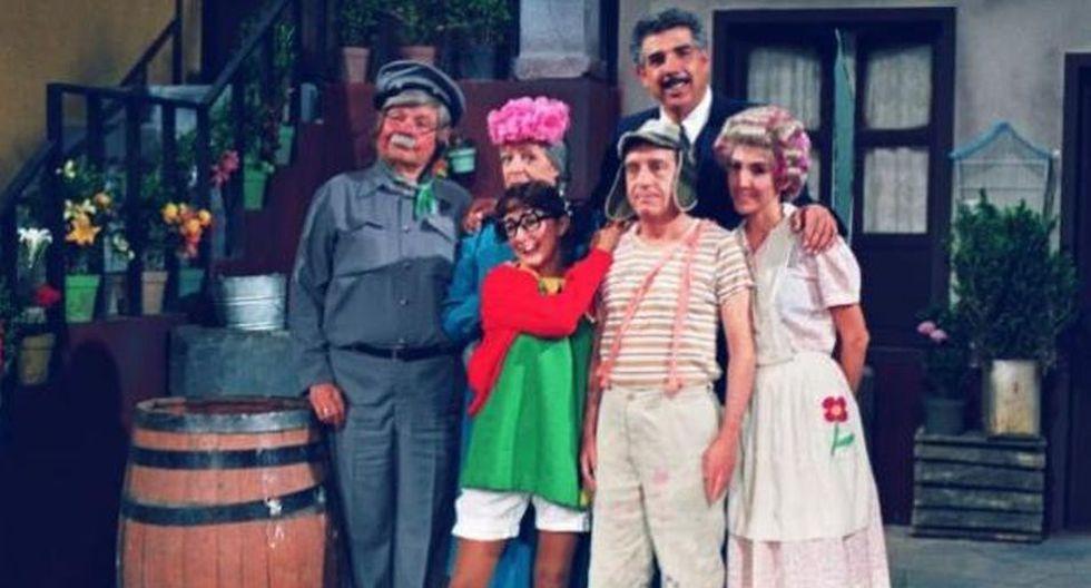 Parte del elenco de El Chavo del 8. (Foto: Televisa)