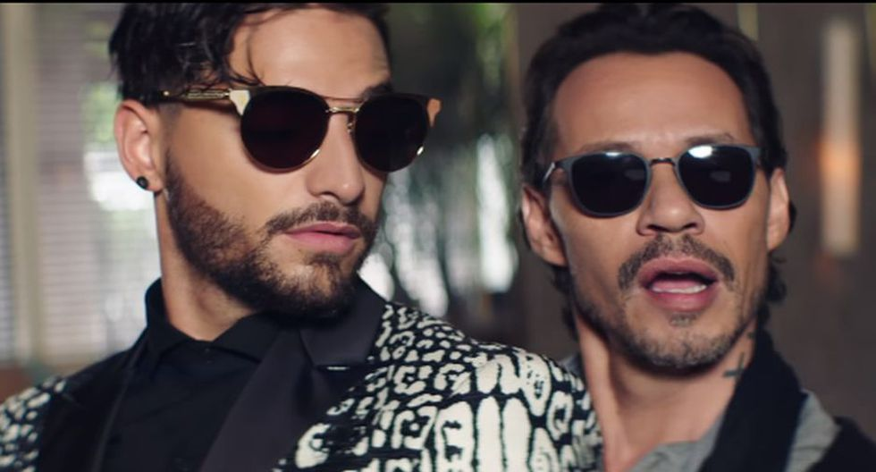 Maluma y Marc Anthony estrenan video de 'Felices los 4' en versión salsa