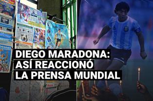 La prensa mundial reacciona tras la muerte de Diego Maradona