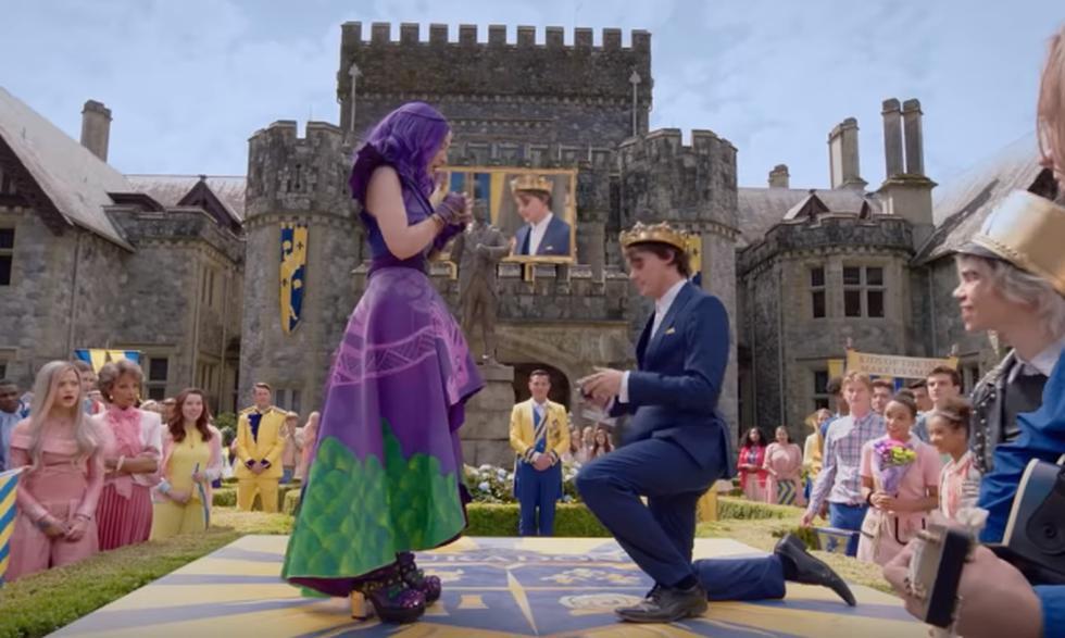 """Este viernes 9 de agosto a las 19:30 llega a Disney Channel """"Descendientes 3"""". (Captura de pantalla)"""