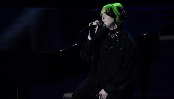 """Oscar 2020: Billie Eilish conmueve a todos con su interpretación de """"Yesterday"""" de The Beatles. (Foto: AFP)"""