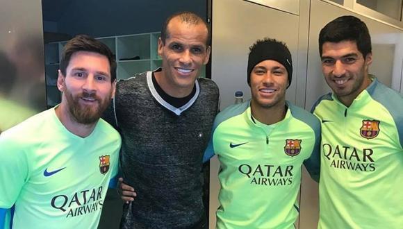 Rivaldo aconseja a Lionel Messi sobre su futuro (Foto: Sport)