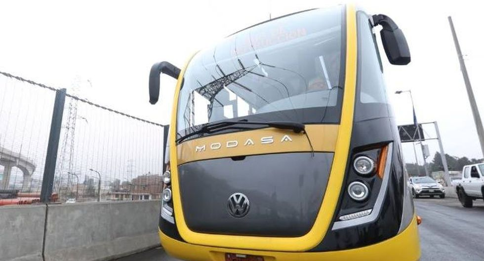 Se inauguró la Línea Amarilla. Fuente: Andina / Municipalidad de Lima
