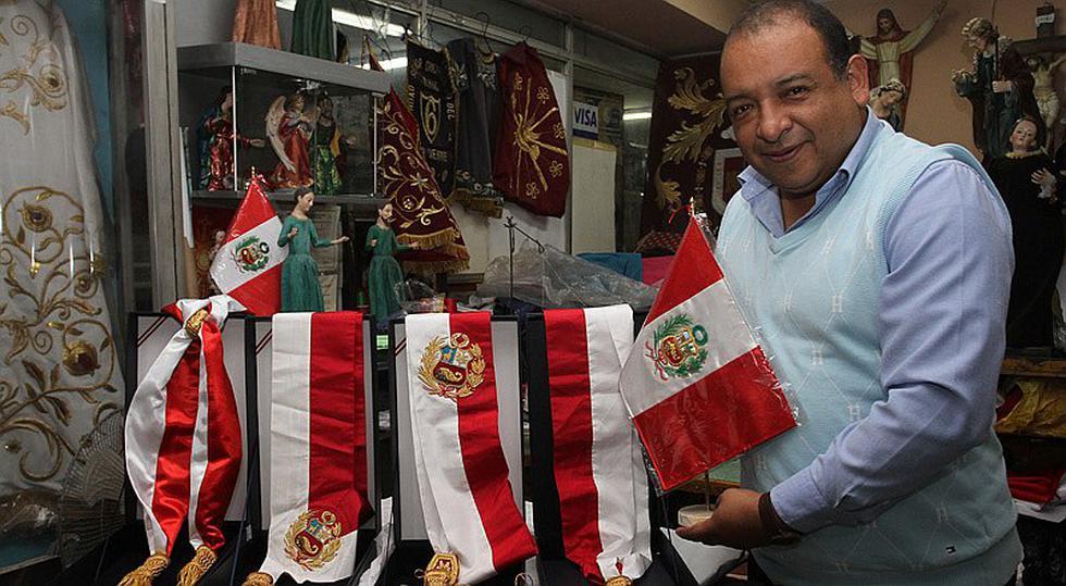 Dante Grados:: el confeccionista de las bandas presidenciales [GEC]