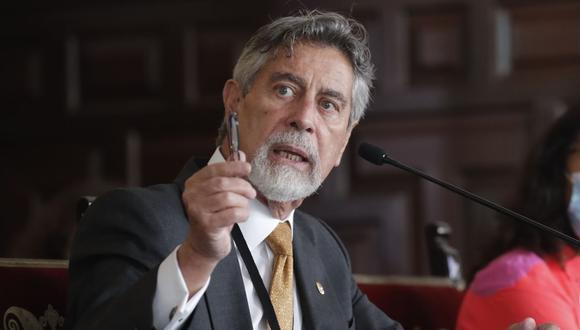 El presidente Francisco Sagasti. (Foto: Andina)