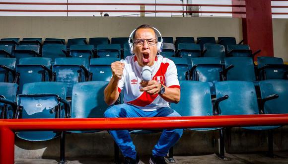 Daniel Peredo narró los partidos más importantes de la selección peruana de fútbol, antes de llegar al mundial de Rusia 2018. (Foto: GEC)