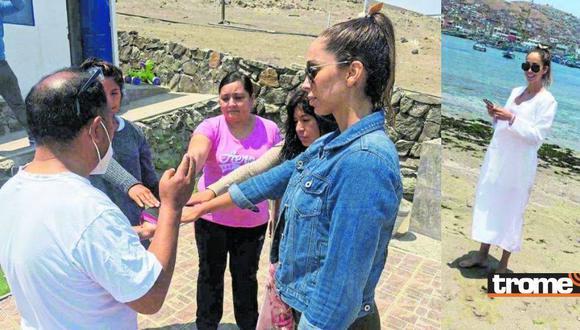 Olinda Castañeda decidió bautizarse al cristianismo poco antes de casarse | TROME