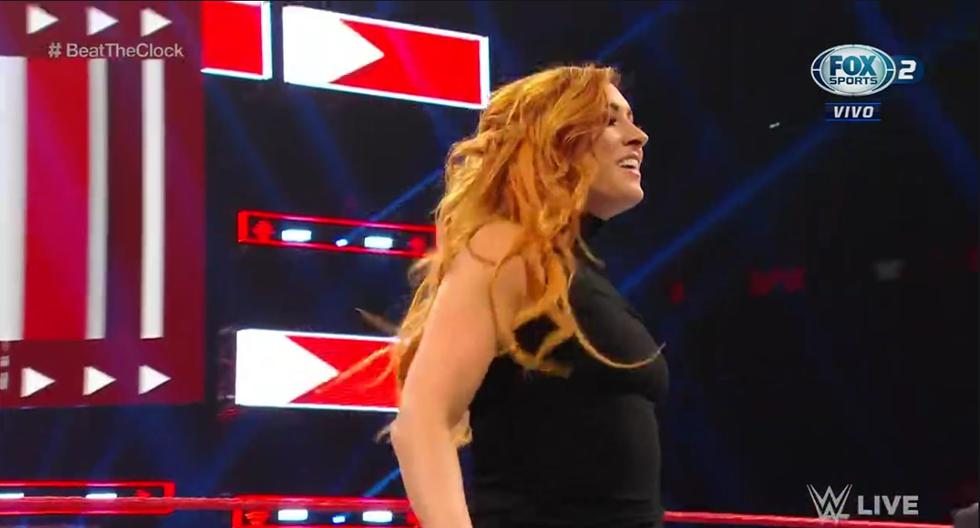 Becky Lynch venció a Liv Morgan, Ronda Rousey a Sarah Logan y Charlotte no pudo con Ruby Ryot. (WWE)