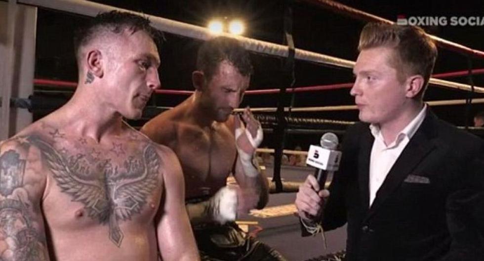 Boxeador muerte luego de brindar entrevista