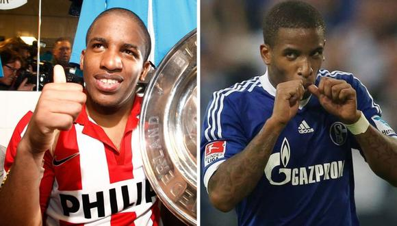 Jefferson Farfán brilló en PSV Eindhoven y Schalke 04.