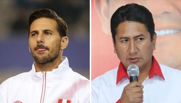 Vladimir Cerrón apareció en el Congreso y así reaccionó Claudio Pizarro en Instagram.