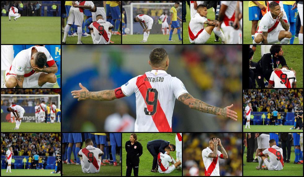 Paolo Guerrero: El dolor y desazón del capitán en 10 imágenes tras perder la final de la Copa América