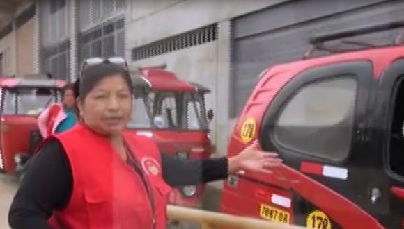 María Atauje es propietaria de la Empresa de Transporte Virgen del Carmen.