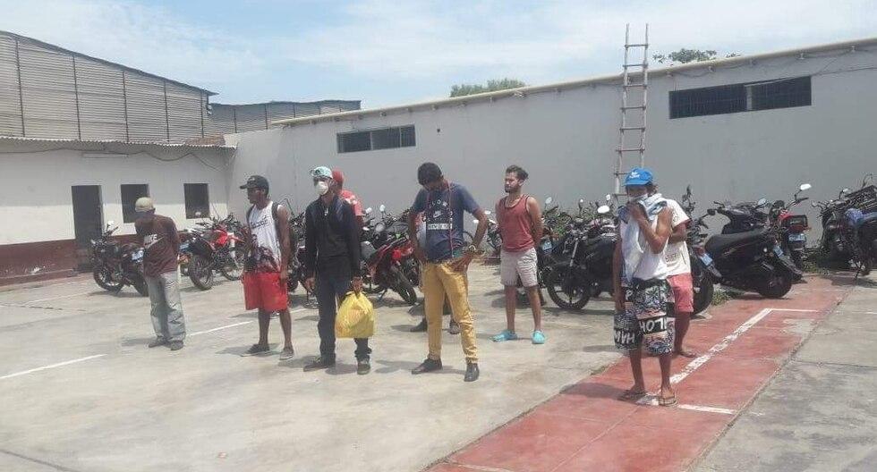 Un sector de pobladores de La Libertad aún se resiste a acatar el toque de queda. (Foto: GEC)
