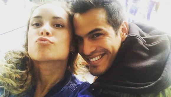 Ernesto Jiménez y su nuevo amor