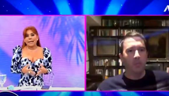 Magaly Medina se reencontró con Mijael Garrido Lecca