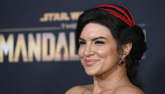 Gina Carano: Bob Chapek, consejero delegado de Disney, se pronuncia tras despido de la actriz. (Foto: AFP)