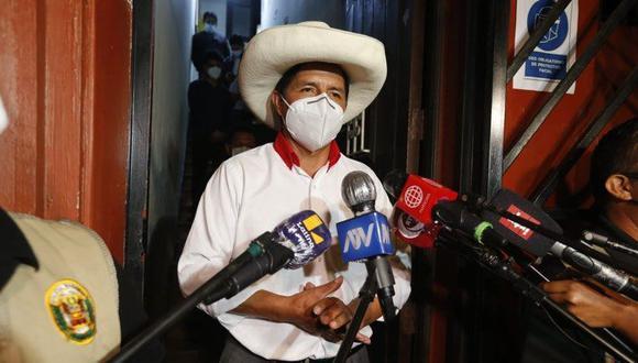 Pedro Castillo de Perú Libre obtuvo la mayor votación en las elecciones del 11 de abril. (Foto: Mario Zapata Nieto / @photo.ge)