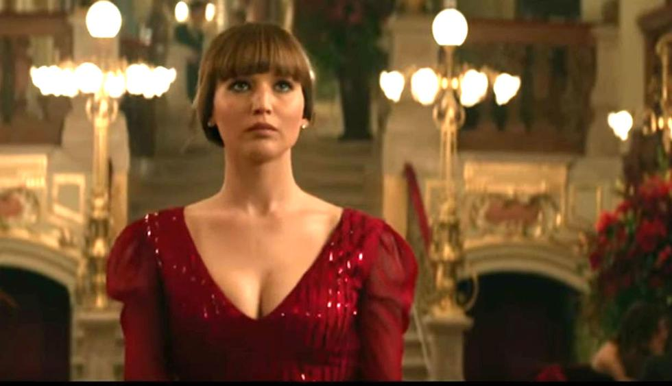Jennifer Lawrence protagoniza Red Sparrow.