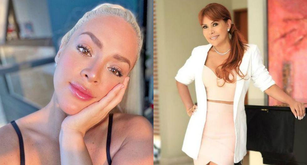 Magaly Medina se burla de Sheyla rojas por sus operaciones estéticas   TROME