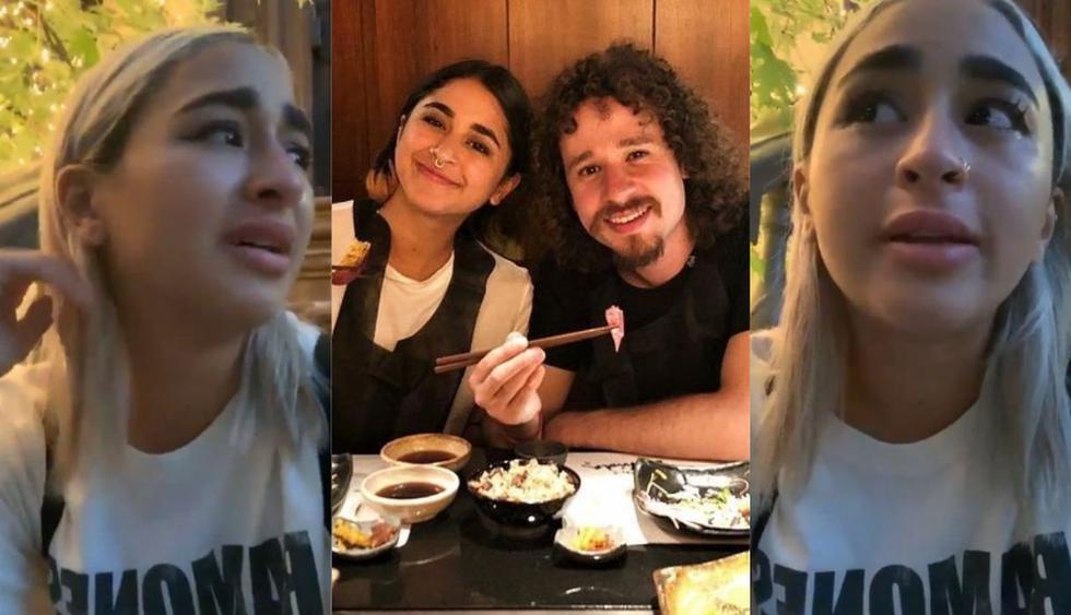 'La Chule', novia de Luisito Comunica, llora en Instagram