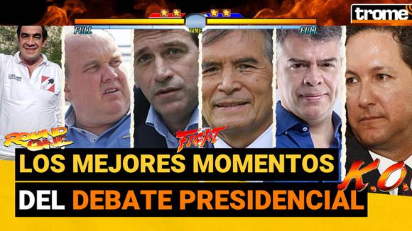 Último debate presidencial versión videojuego