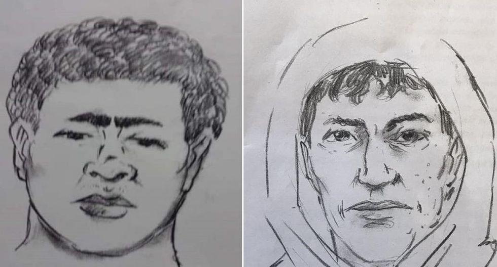 Estos son los rostros de los sujetos que asesinaron al niño. (Redes sociales)