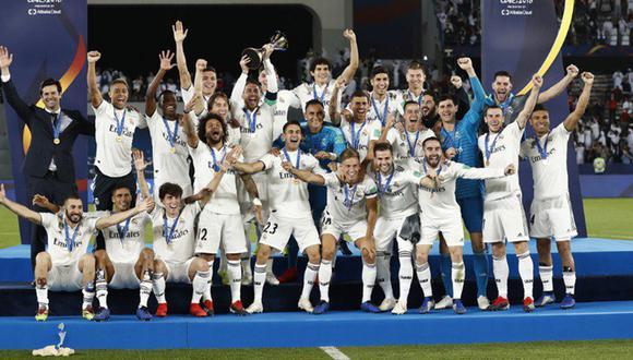 Real Madrid ganó el Mundial de Clubes por tercera vez consecutiva. (Foto: Real Madrid)